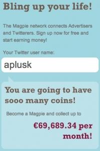 Prognose für Ashton Kutcher: 1,6 Mio. Follower - and counting.
