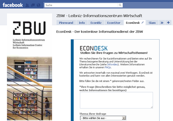 Econdesk kostenloser online rechercheservice für wirtschaftsfragen
